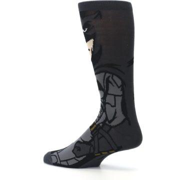 Image of Justice League Batman 360 Men's Casual Socks (side-2-13)