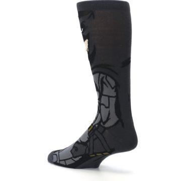Image of Justice League Batman 360 Men's Casual Socks (side-2-back-14)