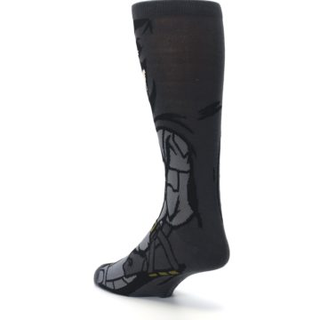 Image of Justice League Batman 360 Men's Casual Socks (side-2-back-15)