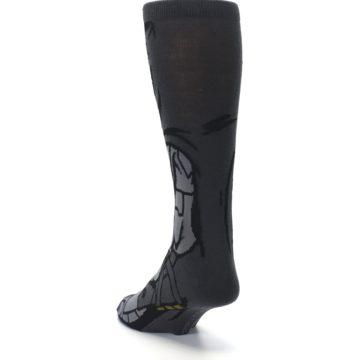 Image of Justice League Batman 360 Men's Casual Socks (side-2-back-16)