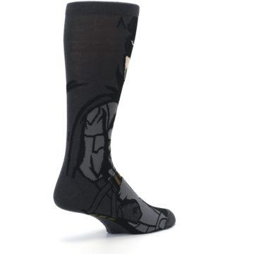Image of Justice League Batman 360 Men's Casual Socks (side-1-back-22)