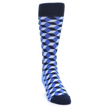 Image of Blues Beeline Optical Men's Dress Socks (side-1-front-03)