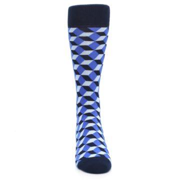 Image of Blues Beeline Optical Men's Dress Socks (front-04)