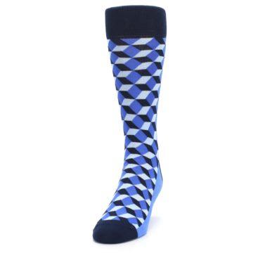 Image of Blues Beeline Optical Men's Dress Socks (side-2-front-06)