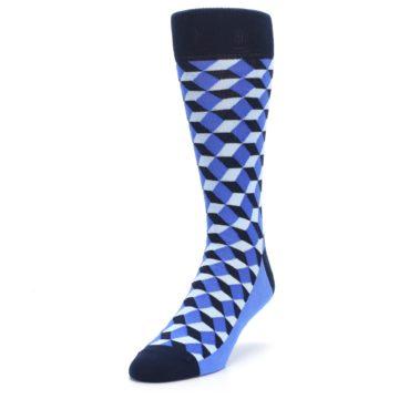 Image of Blues Beeline Optical Men's Dress Socks (side-2-front-07)