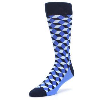 Image of Blues Beeline Optical Men's Dress Socks (side-2-front-08)