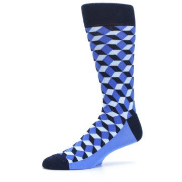 Image of Blues Beeline Optical Men's Dress Socks (side-2-10)