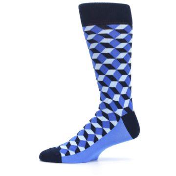 Image of Blues Beeline Optical Men's Dress Socks (side-2-11)