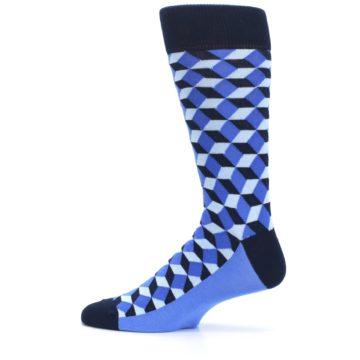 Image of Blues Beeline Optical Men's Dress Socks (side-2-12)