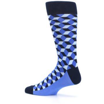 Image of Blues Beeline Optical Men's Dress Socks (side-2-13)