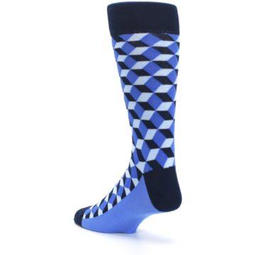 Image of Blues Beeline Optical Men's Dress Socks (side-2-back-15)