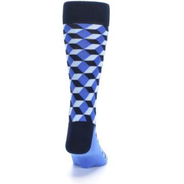 Image of Blues Beeline Optical Men's Dress Socks (back-19)