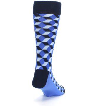 Image of Blues Beeline Optical Men's Dress Socks (side-1-back-20)