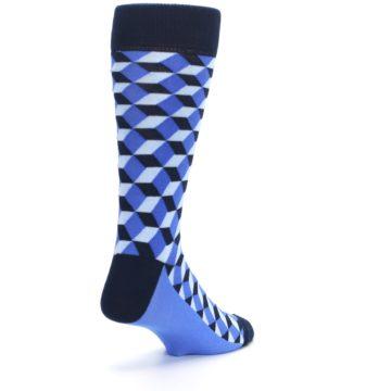Image of Blues Beeline Optical Men's Dress Socks (side-1-back-21)