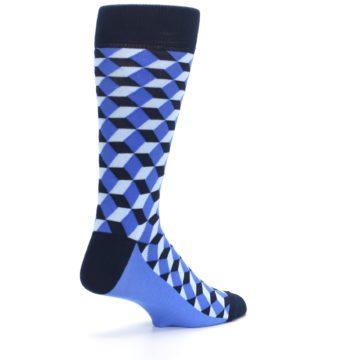 Image of Blues Beeline Optical Men's Dress Socks (side-1-back-22)