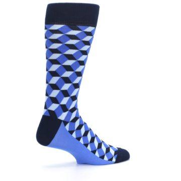 Image of Blues Beeline Optical Men's Dress Socks (side-1-23)