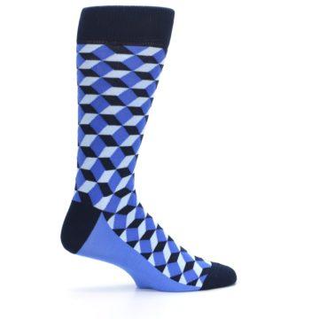 Image of Blues Beeline Optical Men's Dress Socks (side-1-24)