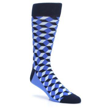 Image of Blues Beeline Optical Men's Dress Socks (side-1-27)
