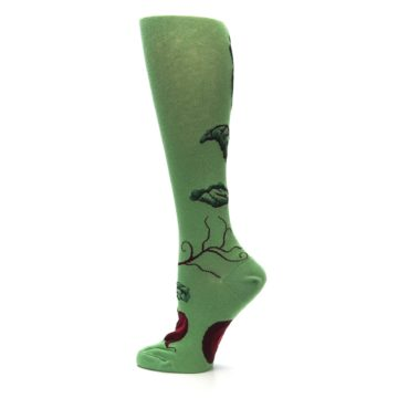 Image of Green Red Beets Women's Knee High Socks (side-2-13)