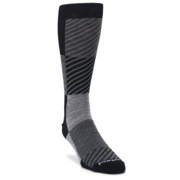 Blue-Heather-Larimer-Wool-Mens-Boot-Socks-Smartwool