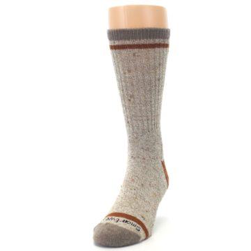 Image of Fossil Heather Larimer Wool Men's Boot Socks (side-2-front-06)