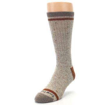 Image of Fossil Heather Larimer Wool Men's Boot Socks (side-2-front-07)
