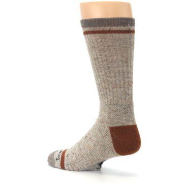 Image of Fossil Heather Larimer Wool Men's Boot Socks (side-2-back-14)