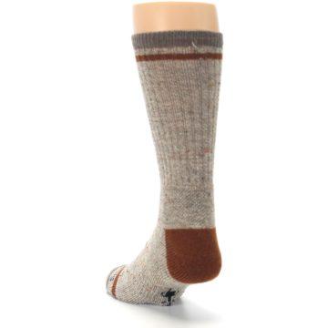 Image of Fossil Heather Larimer Wool Men's Boot Socks (side-2-back-16)