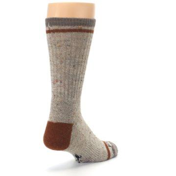 Image of Fossil Heather Larimer Wool Men's Boot Socks (side-1-back-21)
