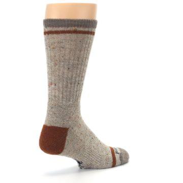 Image of Fossil Heather Larimer Wool Men's Boot Socks (side-1-back-22)