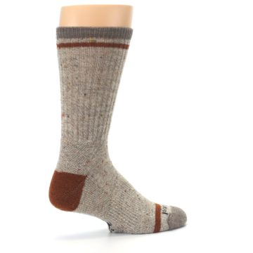 Image of Fossil Heather Larimer Wool Men's Boot Socks (side-1-23)