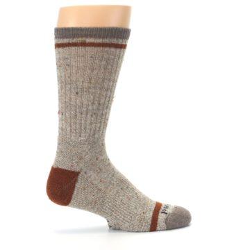 Image of Fossil Heather Larimer Wool Men's Boot Socks (side-1-24)