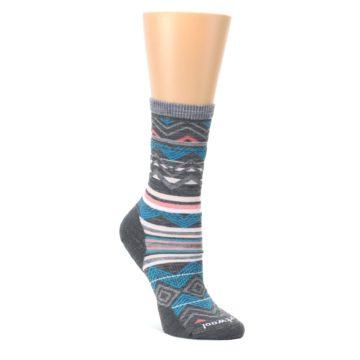 Gray-Blue-Ripple-Creek-Wool-Womens-Casual-Socks-Smartwool