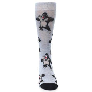 Image of Light Blue Gorilla Men's Dress Sock (front-04)