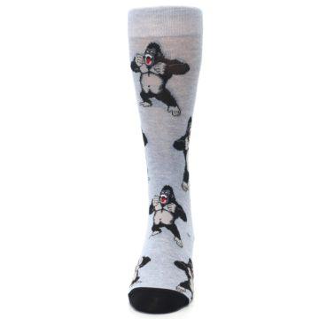 Image of Light Blue Gorilla Men's Dress Sock (front-05)