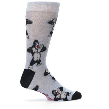 Image of Light Blue Gorilla Men's Dress Sock (side-1-24)