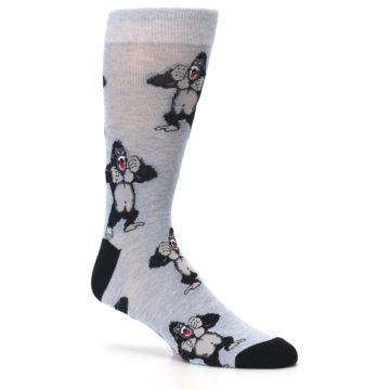 Image of Light Blue Gorilla Men's Dress Sock (side-1-26)