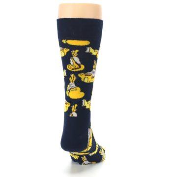 Image of Yellow Submarine The Beatles Men's Dress Socks (back-19)