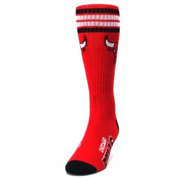 Image of Chicago Bulls Men's Athletic Crew Socks (side-2-front-06)