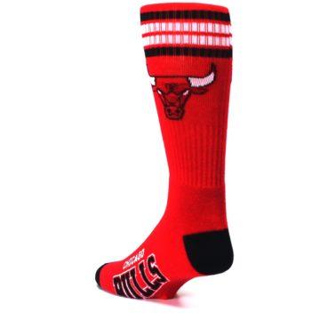Image of Chicago Bulls Men's Athletic Crew Socks (side-2-back-15)