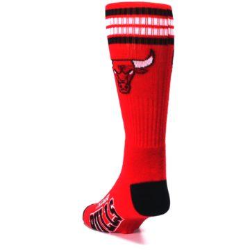 Image of Chicago Bulls Men's Athletic Crew Socks (side-2-back-16)