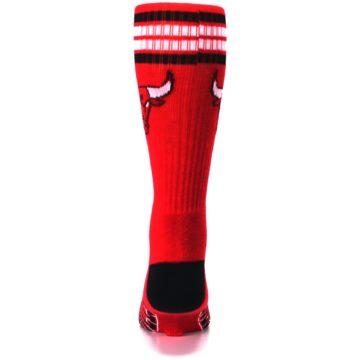 Image of Chicago Bulls Men's Athletic Crew Socks (back-18)
