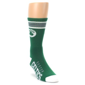 Image of Boston Celtics Men's Athletic Crew Socks (side-1-front-02)