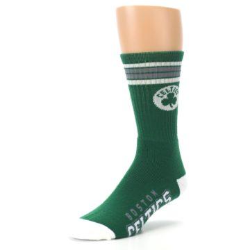Image of Boston Celtics Men's Athletic Crew Socks (side-2-front-08)