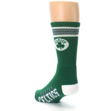 Image of Boston Celtics Men's Athletic Crew Socks (side-2-back-15)