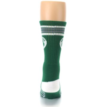 Image of Boston Celtics Men's Athletic Crew Socks (back-18)