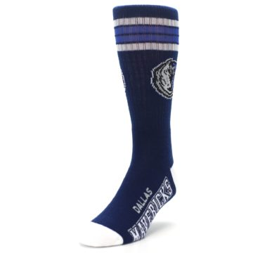 Image of Dallas Mavericks Men's Athletic Crew Socks (side-2-front-07)