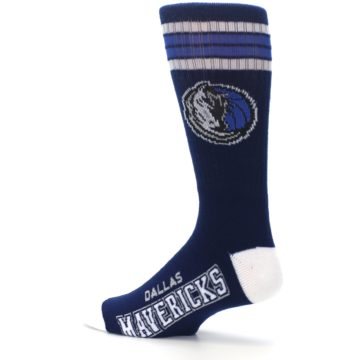 Image of Dallas Mavericks Men's Athletic Crew Socks (side-2-13)
