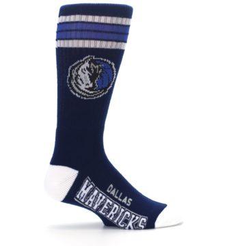 Image of Dallas Mavericks Men's Athletic Crew Socks (side-1-24)