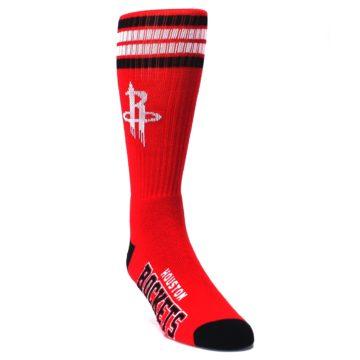 Image of Houston Rockets Men's Athletic Crew Socks (side-1-front-02)